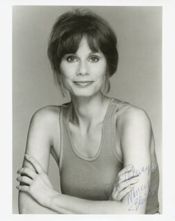 NANCY BLEIER - AUTOGRAPHED SIGNED PHOTOGRAPH