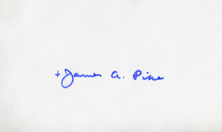 BISHOP JAMES A. PIKE - AUTOGRAPH