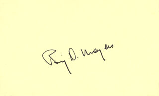 BILL MOYERS - AUTOGRAPH