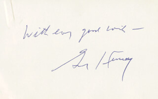 Autographs: BISHOP GERALD KENNEDY - AUTOGRAPH SENTIMENT SIGNED