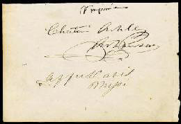 Autographs: PRESIDENT JEFFERSON DAVIS (CONFEDERATE STATES OF AMERICA) - SIGNATURE(S) CIRCA 1847 CO-SIGNED BY: PRESLEY SPRUANCE, CHESTER ASHLEY, DANIEL WEBSTER