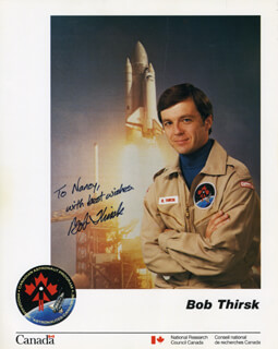 Autographs: BOB THIRSK - INSCRIBED PHOTOGRAPH SIGNED