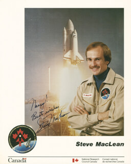 STEVE MacLEAN - AUTOGRAPHED INSCRIBED PHOTOGRAPH