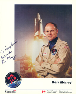 Autographs: KEN MONEY - INSCRIBED PHOTOGRAPH SIGNED