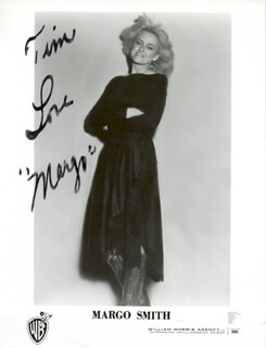 MARGO SMITH - AUTOGRAPHED INSCRIBED PHOTOGRAPH