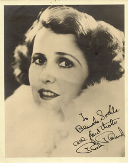RUTH ROLAND - AUTOGRAPHED INSCRIBED PHOTOGRAPH
