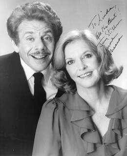 JERRY STILLER - AUTOGRAPHED INSCRIBED PHOTOGRAPH CO-SIGNED BY: ANNE MEARA