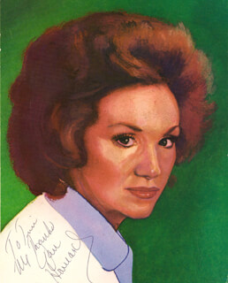 JAN HOWARD - AUTOGRAPHED INSCRIBED PHOTOGRAPH