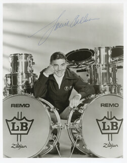 LOUIE BELLSON - AUTOGRAPHED SIGNED PHOTOGRAPH