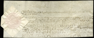 KING CHARLES II (GREAT BRITAIN) - DOCUMENT SIGNED 07/18/1659