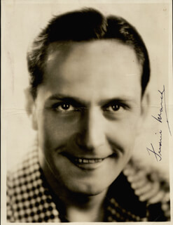 FREDRIC MARCH - AUTOGRAPHED SIGNED PHOTOGRAPH