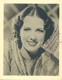 ELEANOR POWELL - AUTOGRAPHED INSCRIBED PHOTOGRAPH