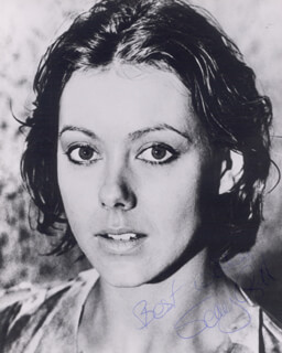 JENNY AGUTTER - AUTOGRAPHED SIGNED PHOTOGRAPH