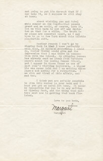 MARGARET MITCHELL - TYPED LETTER SIGNED 05/12/1937