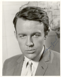 WILLIAM GAUNT - AUTOGRAPHED SIGNED PHOTOGRAPH