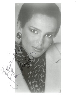 SHARI BELAFONTE - AUTOGRAPHED SIGNED PHOTOGRAPH