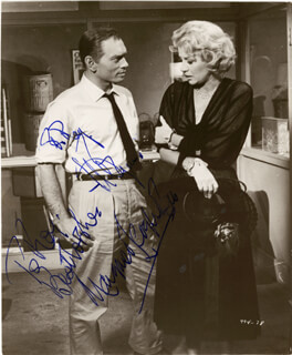 THE SOUND AND FURY MOVIE CAST - AUTOGRAPHED INSCRIBED PHOTOGRAPH CO-SIGNED BY: YUL BRYNNER, MARGARET LEIGHTON