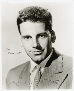 MAXIMILIAN SCHELL - AUTOGRAPHED INSCRIBED PHOTOGRAPH