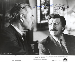 CHILD''S PLAY MOVIE CAST - AUTOGRAPHED SIGNED PHOTOGRAPH 1972 CO-SIGNED BY: JAMES MASON, ROBERT PRESTON