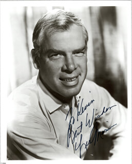 LEE MARVIN - AUTOGRAPHED INSCRIBED PHOTOGRAPH