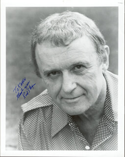 ROD STEIGER - AUTOGRAPHED INSCRIBED PHOTOGRAPH