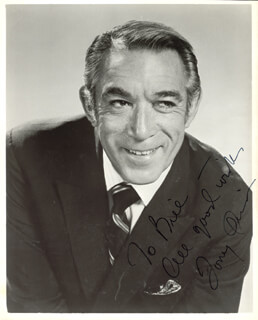 ANTHONY QUINN - AUTOGRAPHED INSCRIBED PHOTOGRAPH