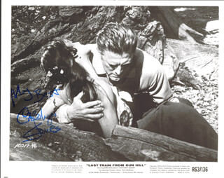 CAROLYN JONES - AUTOGRAPHED SIGNED PHOTOGRAPH