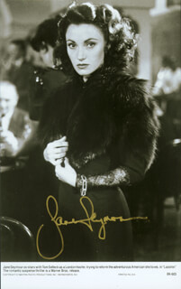 JANE SEYMOUR - AUTOGRAPHED SIGNED PHOTOGRAPH 1984