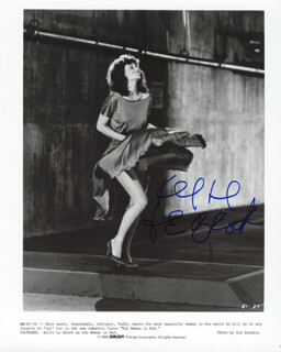 KELLY LE BROCK - AUTOGRAPHED SIGNED PHOTOGRAPH 1984