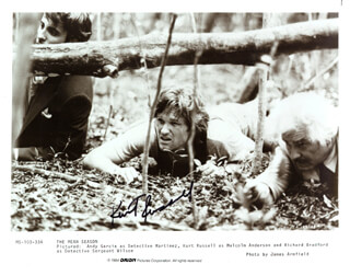 KURT RUSSELL - AUTOGRAPHED SIGNED PHOTOGRAPH CIRCA 1984