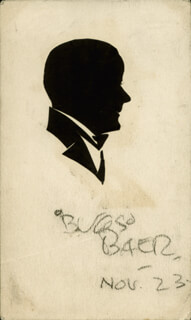 ARTHUR BUGS BAER - ORIGINAL ART SIGNED 11/1923