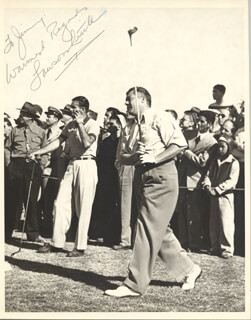 LAWSON LITTLE - AUTOGRAPHED INSCRIBED PHOTOGRAPH
