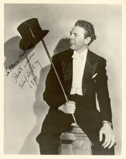 HAL LE ROY - AUTOGRAPHED INSCRIBED PHOTOGRAPH 1934