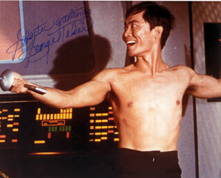 GEORGE TAKEI - AUTOGRAPHED SIGNED PHOTOGRAPH