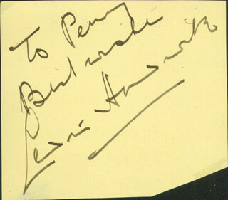 SIR CEDRIC HARDWICKE - AUTOGRAPH NOTE SIGNED