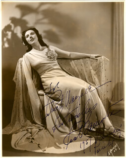 ROSE BAMPTON - AUTOGRAPHED INSCRIBED PHOTOGRAPH 1957
