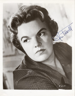 EILEEN FARRELL - AUTOGRAPHED SIGNED PHOTOGRAPH