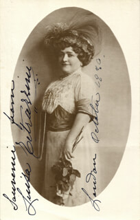LUISA TETRAZZINI - AUTOGRAPHED SIGNED PHOTOGRAPH 10/1930