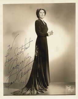 ROSE BAMPTON - AUTOGRAPHED INSCRIBED PHOTOGRAPH 1948