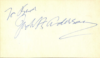 DAME JUDITH ANDERSON - INSCRIBED SIGNATURE