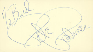 PETER PALMER - INSCRIBED SIGNATURE