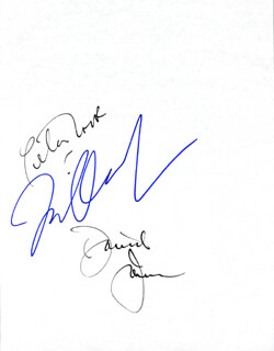 THE MONKEES - AUTOGRAPH CO-SIGNED BY: THE MONKEES (DAVY JONES), THE MONKEES (MICKEY DOLENZ), THE MONKEES (PETER TORK)