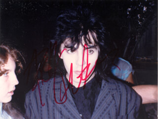 DURAN DURAN (NICK RHODES) - AUTOGRAPHED SIGNED PHOTOGRAPH