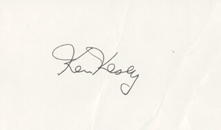 KEN KESEY - AUTOGRAPH