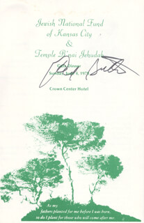 Autographs: RED BUTTONS - PROGRAM SIGNED 06/04/1973