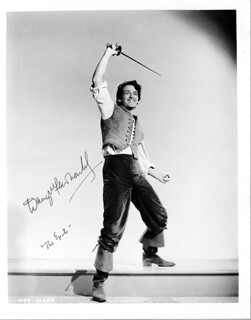 DOUGLAS FAIRBANKS JR. - AUTOGRAPHED SIGNED PHOTOGRAPH