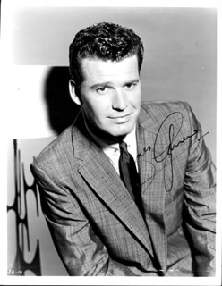JAMES GARNER - AUTOGRAPHED SIGNED PHOTOGRAPH