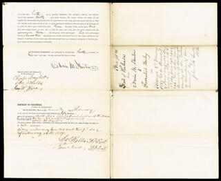 EDWIN M. STANTON - INDENTURE SIGNED 02/07/1859