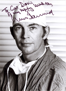 CHRISTIAAN BARNARD - AUTOGRAPHED INSCRIBED PHOTOGRAPH