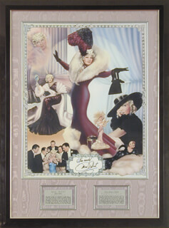 MAE WEST - AUTOGRAPHED SIGNED POSTER